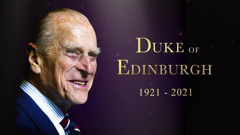 Prince Philip, The Duke of Edinburgh, dies aged 99 | News News | Sky Sports