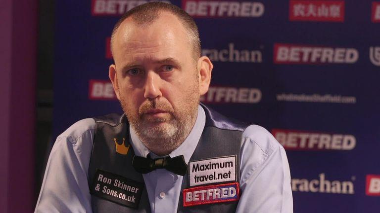 Mark Williams discusses his viral trickshot and memorable win over John Higgins