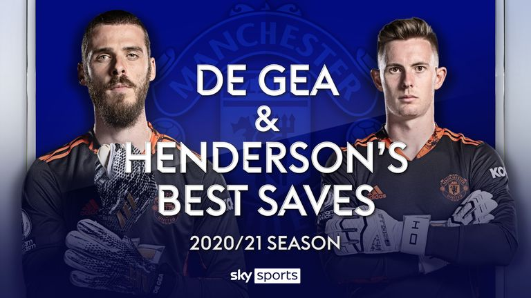 David de Gea and Dean Henderson's best saves from the 2020/21 campaign