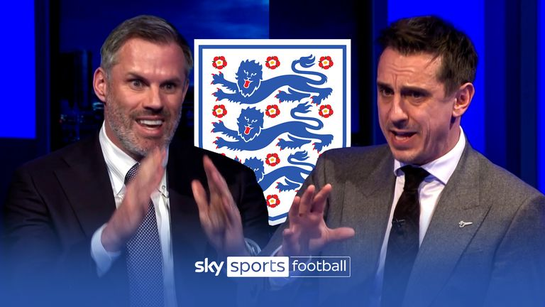 MNF: Jamie Carragher and Gary Neville select their England squads | Video |
