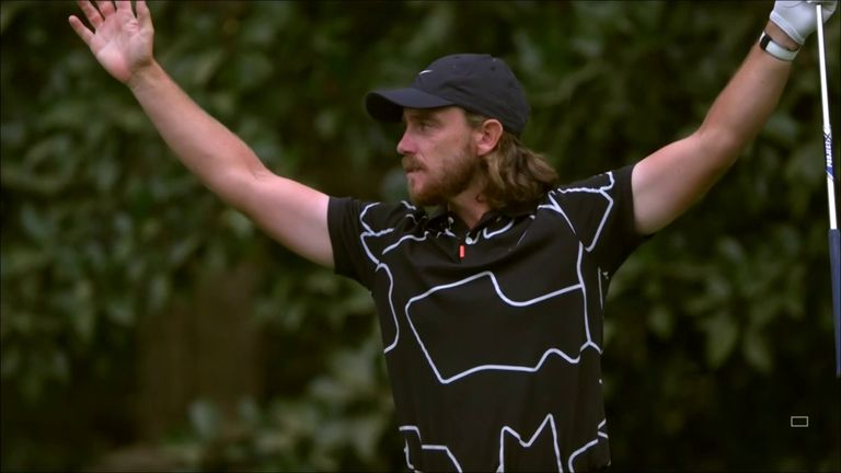 The Masters 2021: Tommy Fleetwood fires hole-in-one at Augusta National's