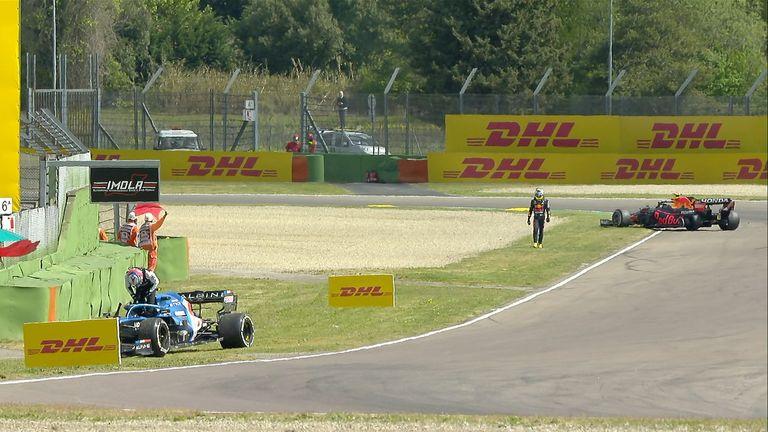 Emilia-Romagna GP: Valtteri Bottas fastest in Practice One as Sergio Perez  and Esteban Ocon collide - Lenexworld