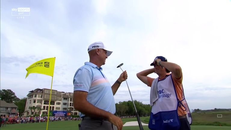 Nick Dougherty and Wayne Riley look back at the best of the action from Stewart Cink's tournament-winning final round at the RBC Heritage