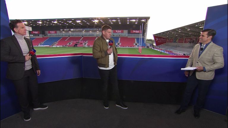 During his last appearance on Sky Sports, future Castleford coach Lee Radford outlined thoughts on Tigers' squad