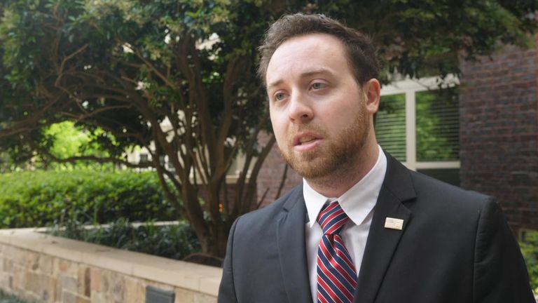 Republican activist Adam Keller