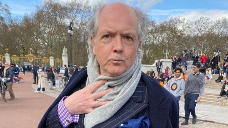 Adrian Dannatt, 57, London