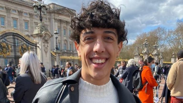 Amerigo Olivito, 17, from Italy