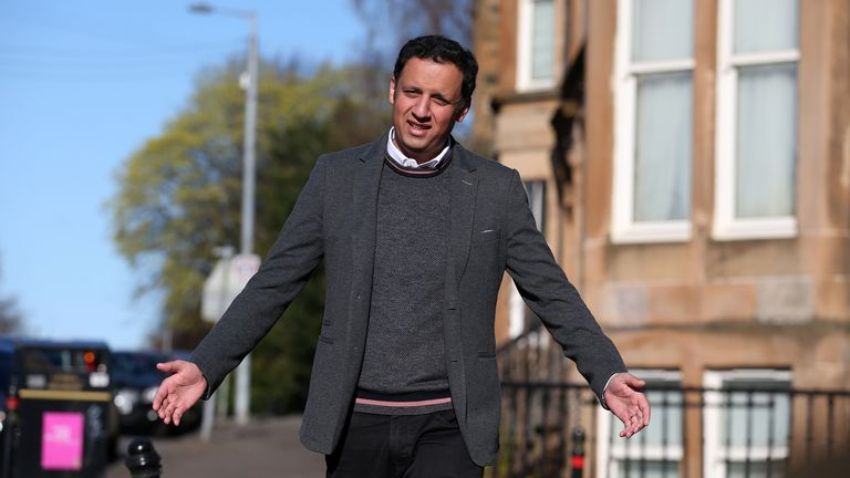 Scottish Labour leader Anas Sarwar