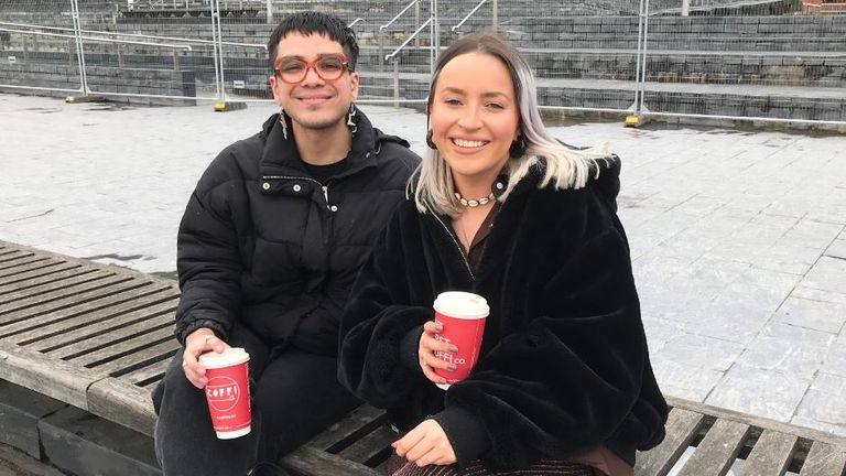 Antony Spiteri, 23 and Imogen Davies, 22