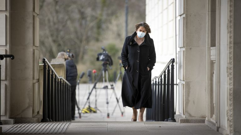 Arlene Foster pictured at Stormont