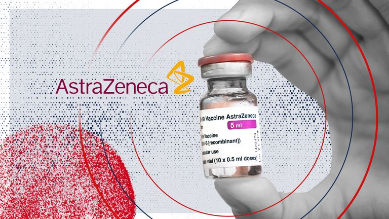 There is a small risk of blood clots after taking the AstraZeneca jab, the MHRA said