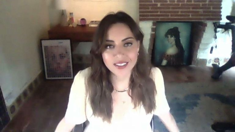 Aubrey Plaza on Parks And Rec