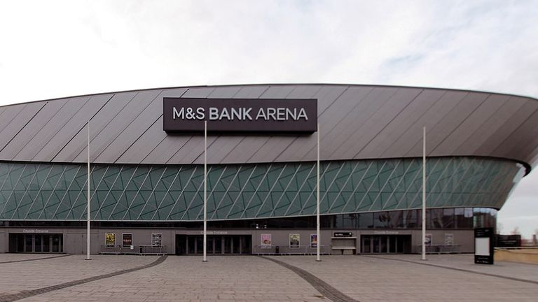 M&S Bank Arena. Pic: Wikicommons/Rodhullandemu