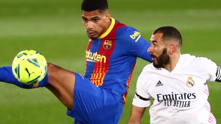 Real Madrid v FC Barcelona - Estadio Alfredo Di Stefano, Madrid, Spain - April 10, 2021
