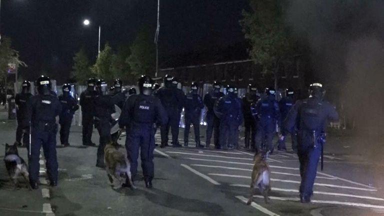 Belfast unrest