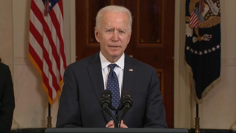 President Biden addresses the nation following the conviction of Derek Chauvin