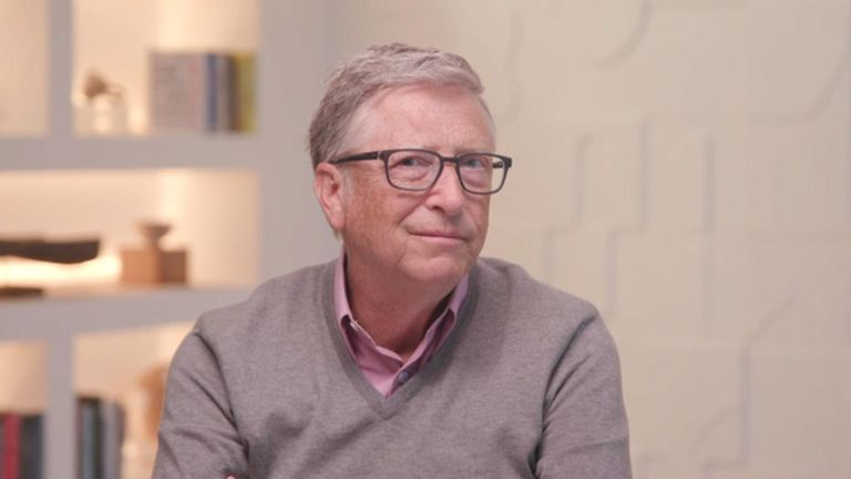 Bill Gates told Sophy Ridge on Sunday that he is optimistic for a return to normality by the end of next year