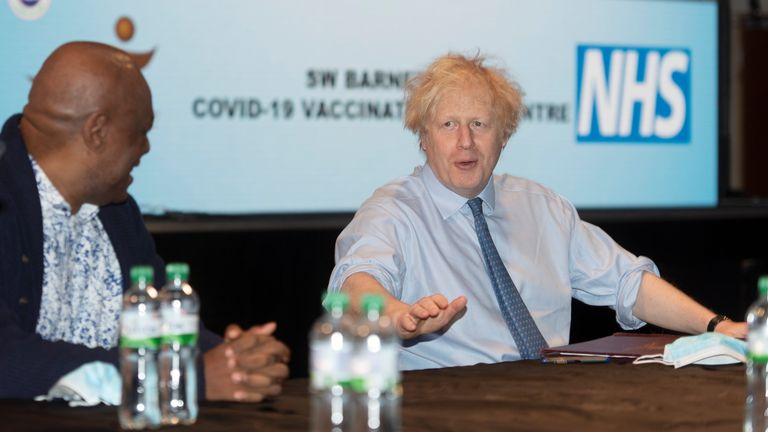 Prime Minister Boris Johnson visited Jesus House last month
