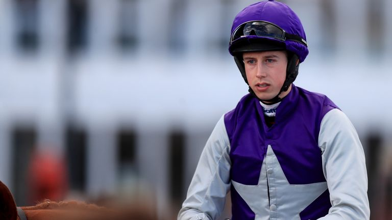 Jockey Bryan Cooper during Champion Day of the 2019 Cheltenham Festival at Cheltenham Racecourse.