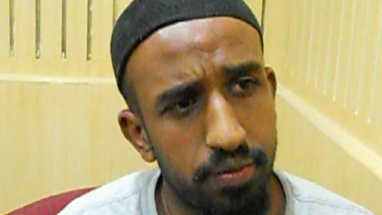 Undated handout photo issued by South Wales Police of Mohammed Ali Ege, 42, who fled to India before he could be arrested in connection with the murder of 17-year-old Aamir Siddiqi, who was stabbed at his family home in a mistaken identity attack.