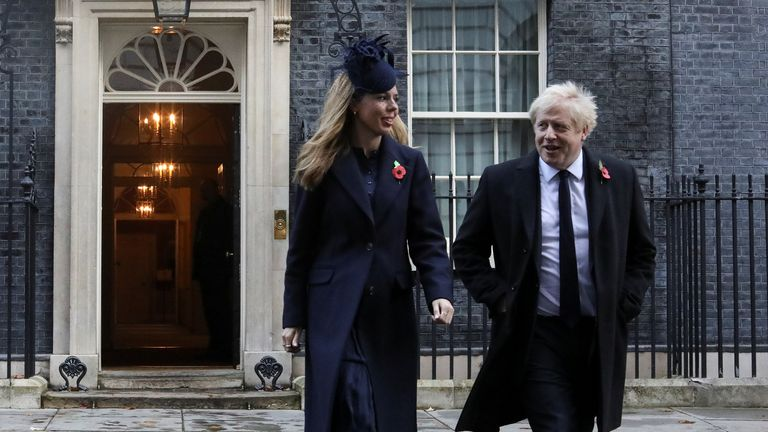 Carrie Symonds is said to be leading the refurb of No 11