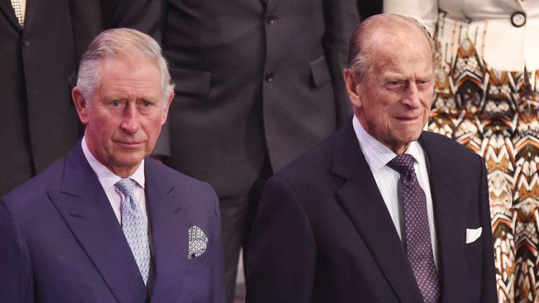 The Duchess of Corwnall, the Prince of Wales and the Duke of Edinburgh attend the Opening Ceremony for Commonwealth Heads of Government Meeting (CHOGM) at the Mediterranean Conference Centre Valletta in Malta