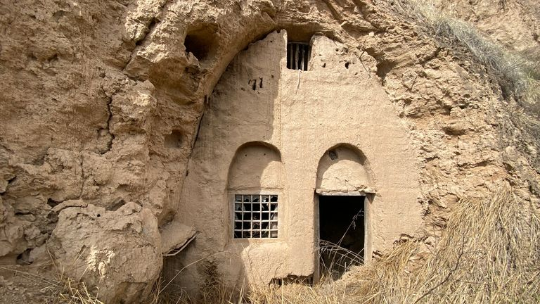 Residents in the region lived in enclosed caves, however, due to rising temperatures and a lack of rainfall people have had to leave their homes