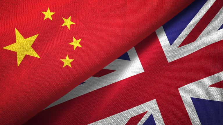 The UK was still donating aid to China, despite it being viewed as a security concern