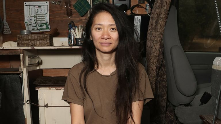 Nomadland director Chloe Zhao. Pic: Searchlight Pictures/20th Century Studios