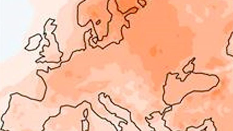2020 saw the warmest year, winter, and autumn on record for Europe. Pic: Copernicus Climate Change Service