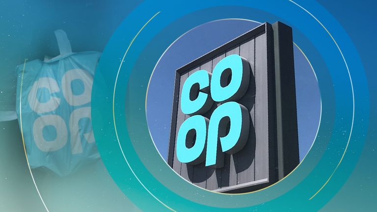 "The Co-op says increased use of ""bags for life"" has seen an increase in the use of plastic"