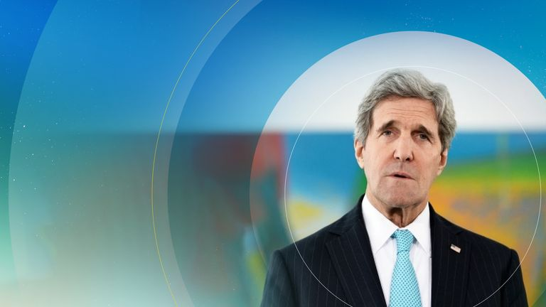 John Kerry told Sky News global warming is 'extremely urgent'