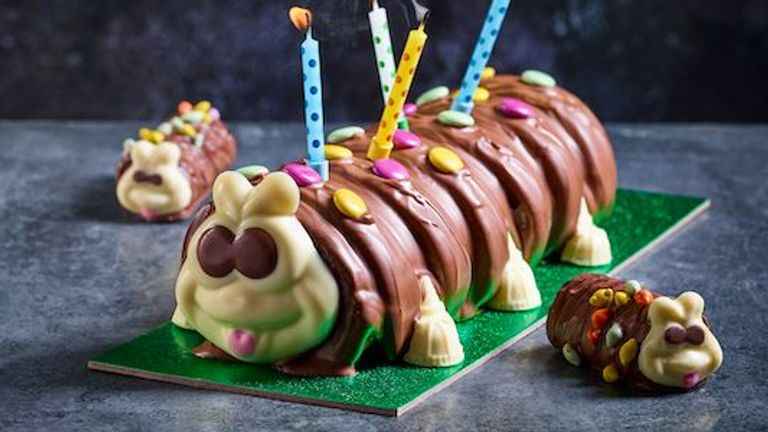 Colin the Caterpillar Pic: M&S