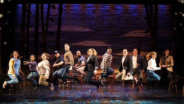 Come From Away tells the true story of the flights that were diverted to Newfoundland after 9/11
