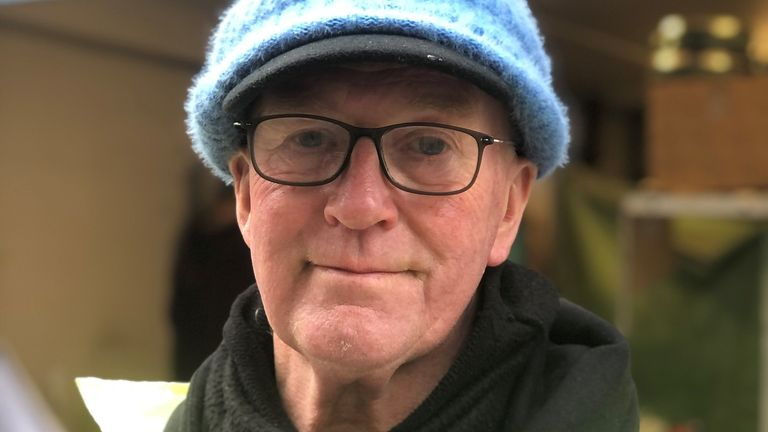 Melvin Taylor, 66, began trading shrubs to become a garden centre