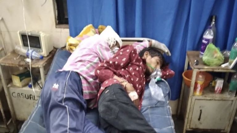 In some hospitals in India patients are sharing beds