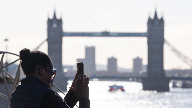 Many people will be hoping to take advantage of relaxed restrictions to visit London and other UK tourist hot-spots
