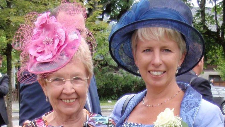 Nicola Hurst and her mother Imelda Santangeli
