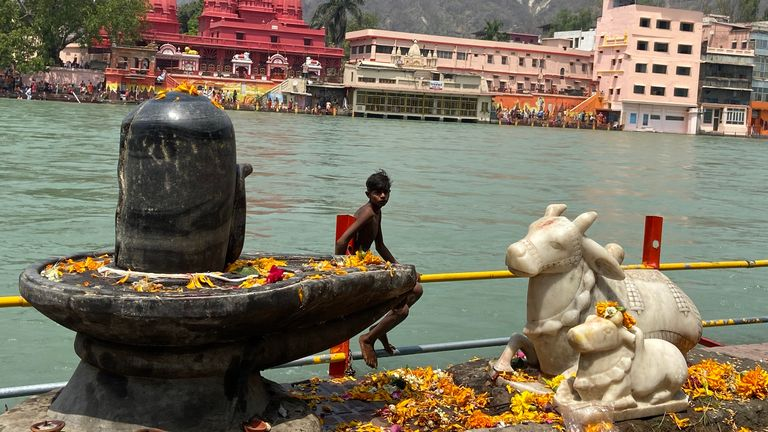 The festival will also mean people take a dip in the River Ganges