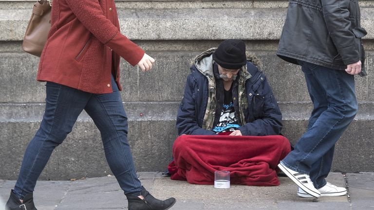 Over half of the 3,002 rough sleepers identified from the first quarter were on the streets for the first time