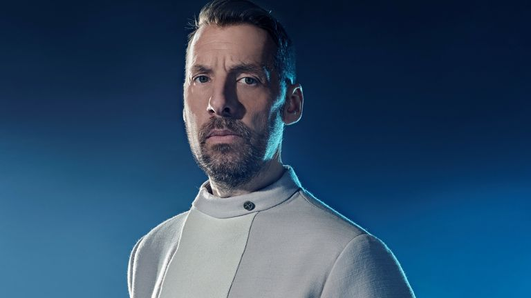 Craig Parkinson in Intergalactic. Pic: Sky UK