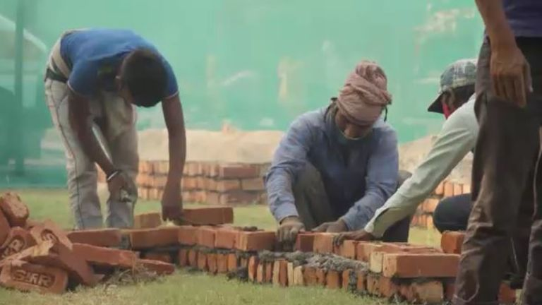 Workers are extending the crematorium to cope with the demand