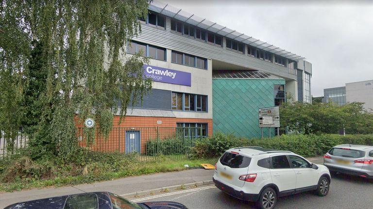 Crawley College. Pic: Google Street View