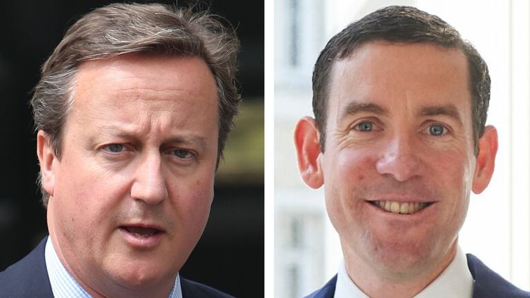 David Cameron and Lex Greensill