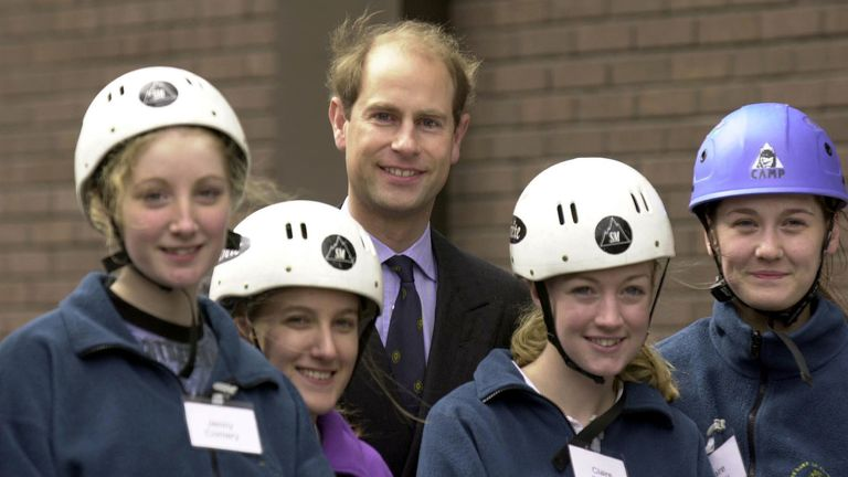 Prince Edward is a patron of the award scheme that was set up by his father