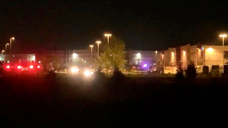Eight killed and many injured in shooting at US FedEx facility