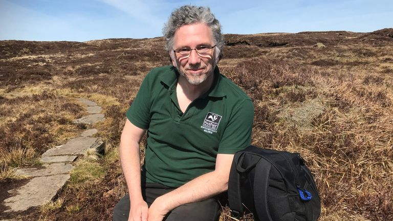 Clive Faulkner says that its is possible to repair the peats and reduce the risk of flooding