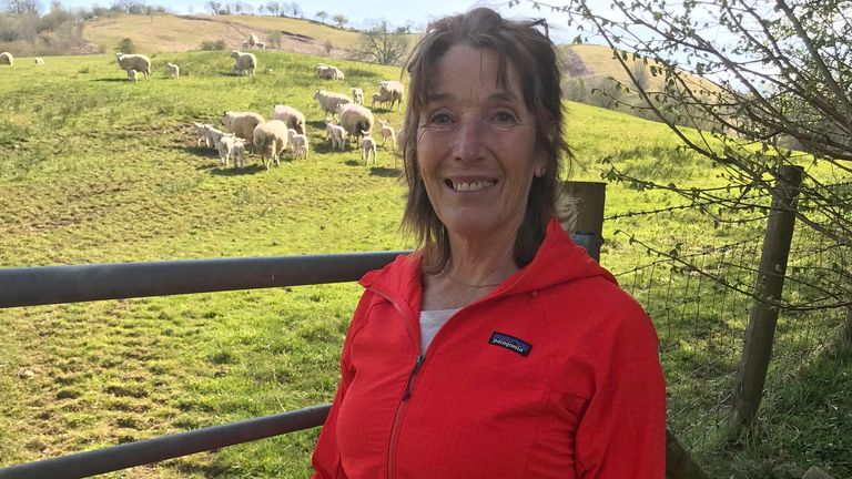 Jane Lloyd Francis owns a farm believes farmers would consider the plans if the financial benefits were sufficient.