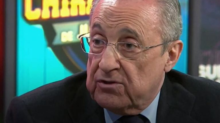Florentino Perez says football 'has to evolve'
