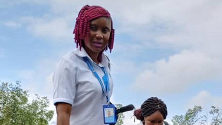 Elizabeth Mattia MSI Sierra Leone